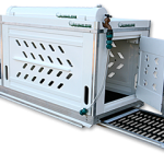 Kennel and Kargo Glide with Dog Ramp