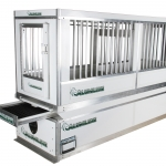 70 Series Law-Barred Kennel on Vault